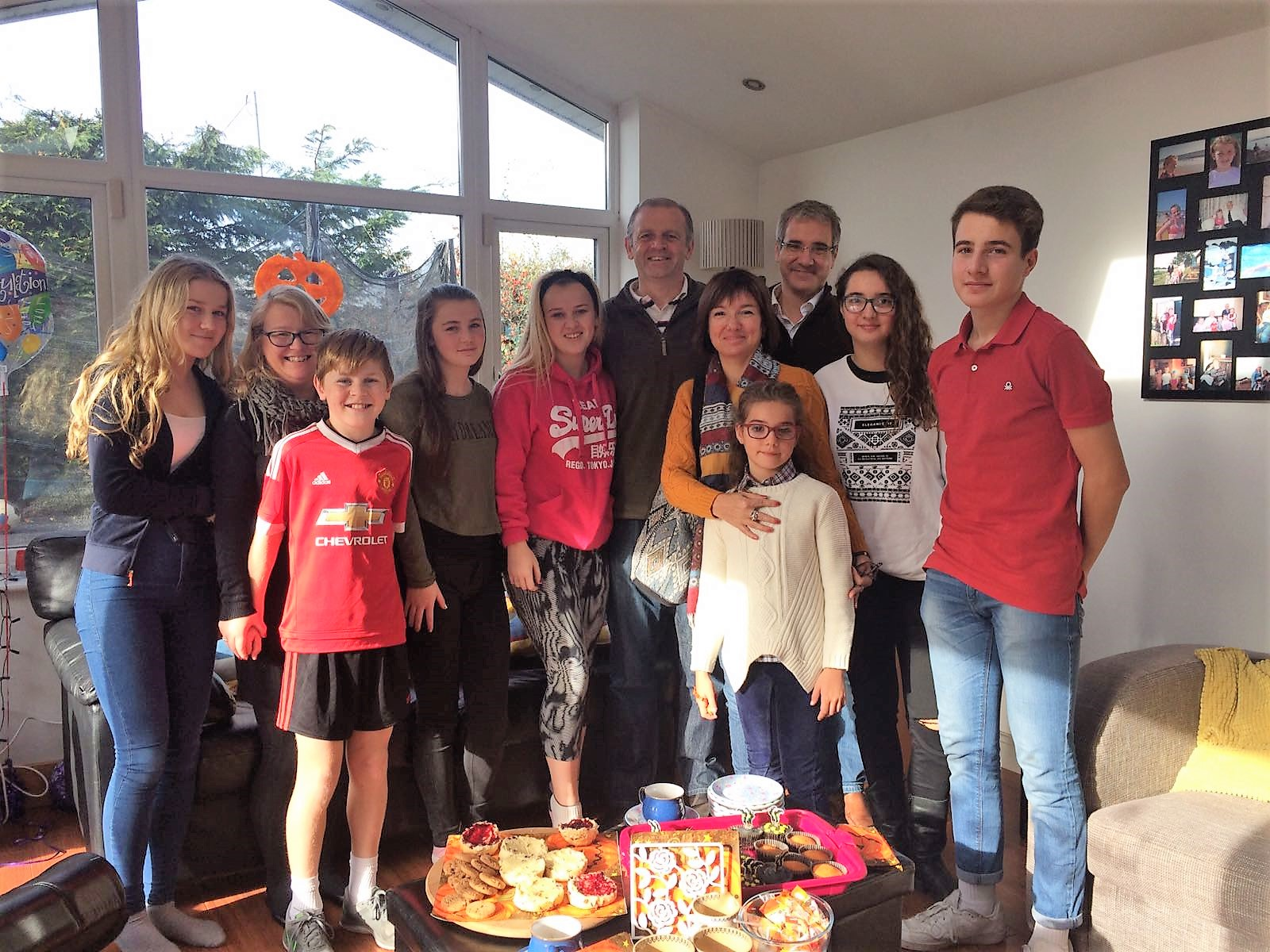 familias irlandesas